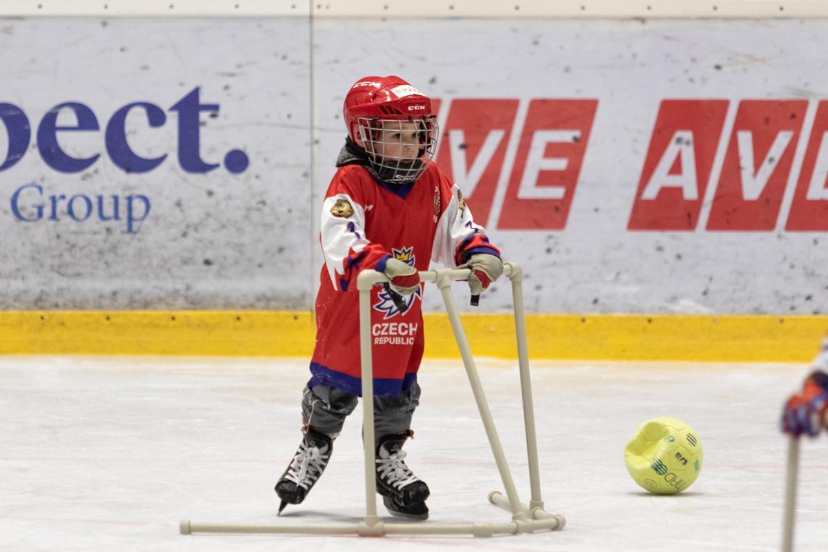 Velká jízda přivedla na Bouchalky čtyři desítky hokejových nadějí